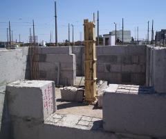 Строительство храма - Строительство храма (цокольный этаж) 2007 год