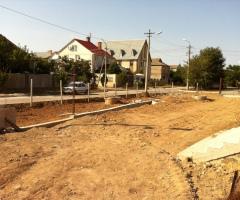 Строительство храма - Строительство ограды территории храма. Купольные и кровельные работы. Начало внутренней отделки. 2011-2012 года