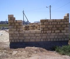 Строительство храма - Строительство служебных помещений с временным храмом 2008 год