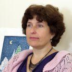 Преподаватель иконописи Оксана Борисовна Киселевская
