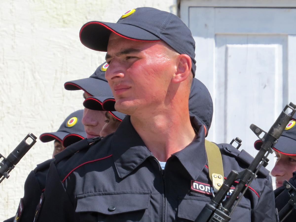 В батальоне Росгвардии
