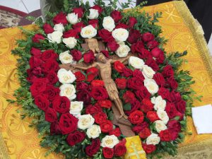 Божественная литургия в храме во имя святителя Луки 14 августа 2017 г.