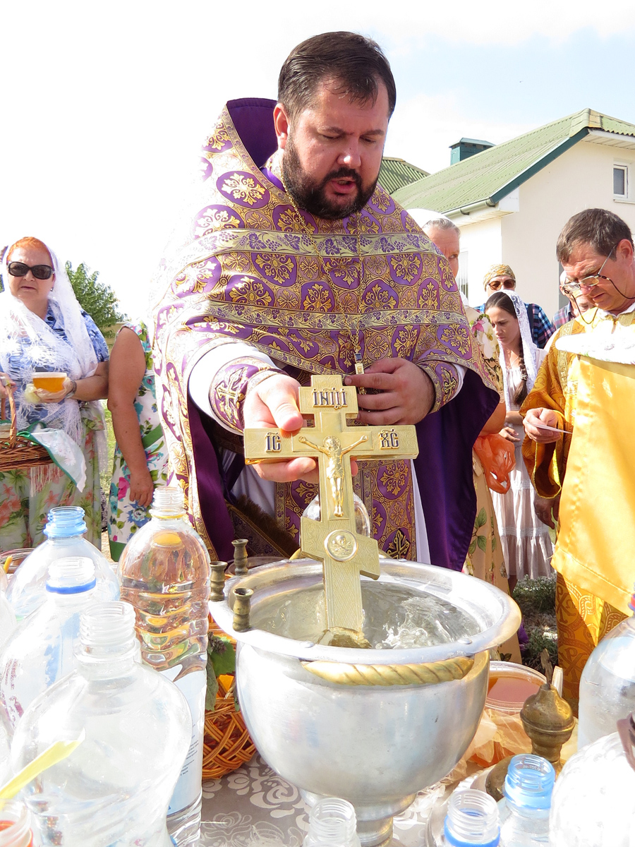 Водосвятный молебен