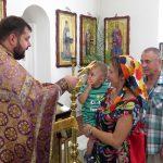 Настоятель храма протоиерей Владимир Бадах