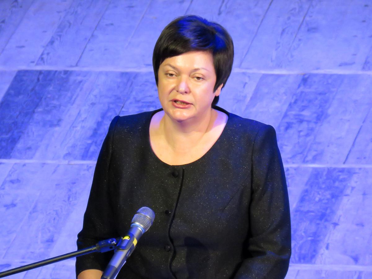 Министр образования, науки и молодёжи Республики Крым Наталья Гончарова